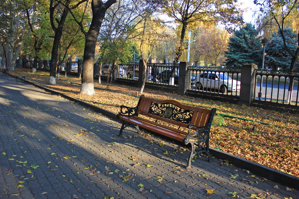Benches of Yerevan - Tatevik  Vardanyan - The Armenite
