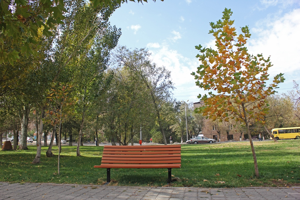 Benches of Yerevan - Tatevik  Vardanyan - The Armenite -16