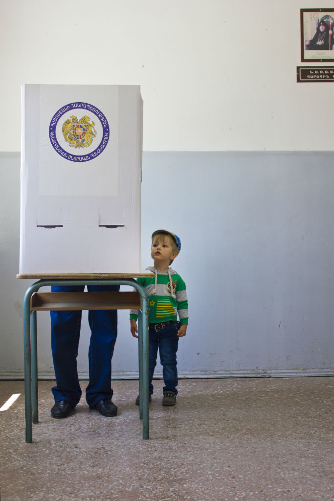 Future Voters of Armenia - Tatevik Vardanyan - The Armenite