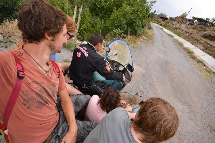 Hitchhiking in Armenia - The Armenite
