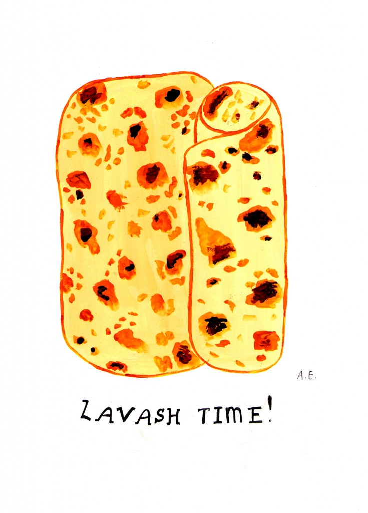 Lavash Time - Armenuhi Yeganyan - The Armenite