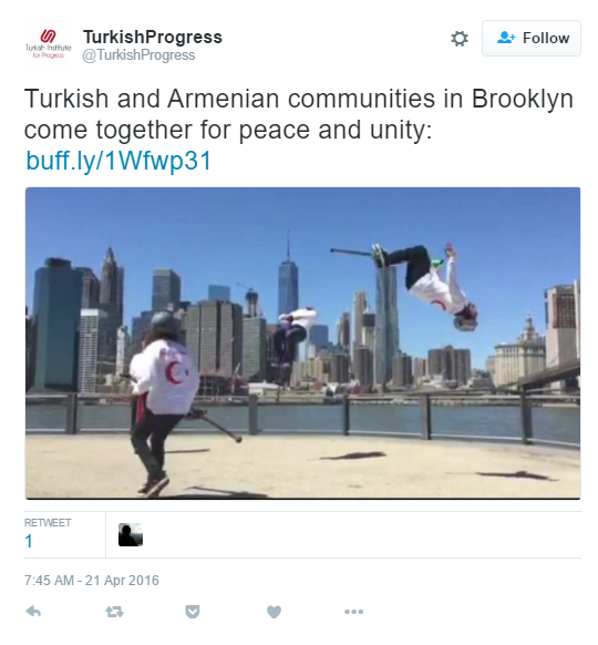 Turkish Institue for Progress Brooklyn Event - The Armenite