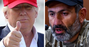 Donald Trump hat -MAGA Nikol Pashinyan Dukhov hat - The Armenite