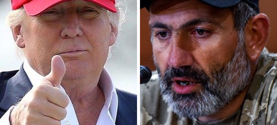 Donald Trump hat -MAGA Nikol Pashinyan Dukhov hat - The Armenite