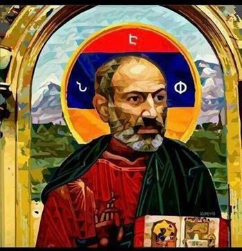 Nikol Pashinyan as Jesus Christ - The Armenite