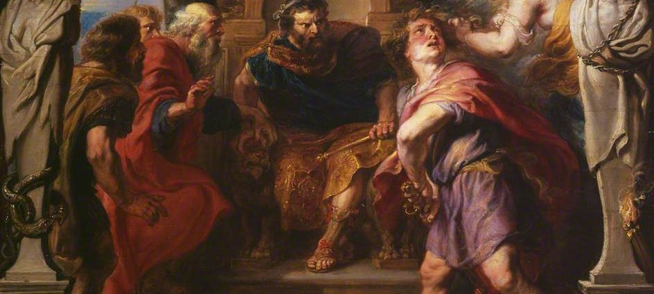 Wrath of Achilles - Peter Paul Rubens - (c) The Courtauld Gallery; Supplied by The Public Catalogue Foundation_The_Armenite